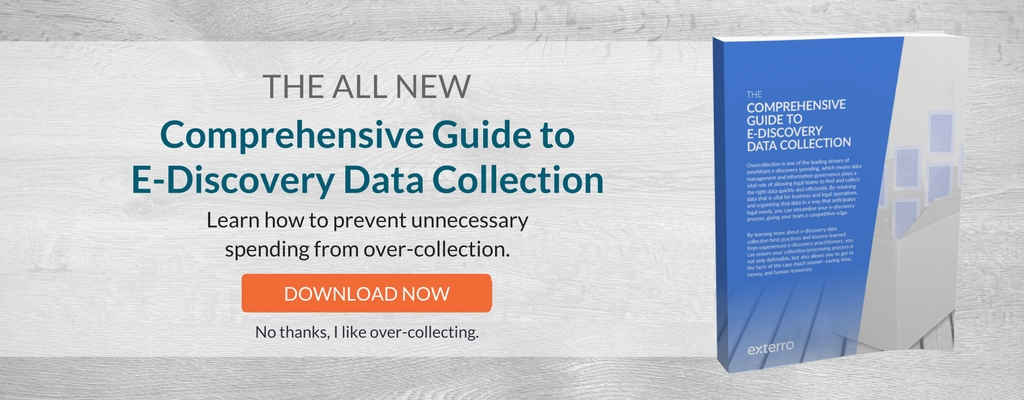 Exterro Comprehensive Guide to Data Collection