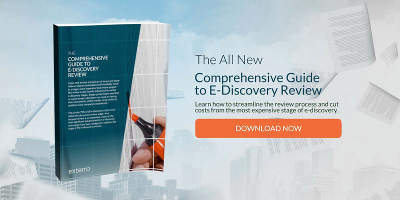 Exterro Comprehensive Guide to E-Discovery Review