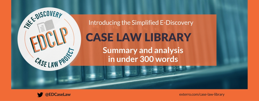 Exterro Case Law Library