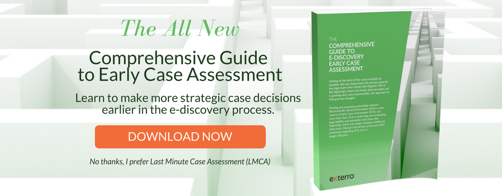 Exterro Comprehensive Guide to Early Case Assessment