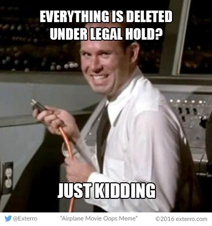 Exterro E-Discovery Memes