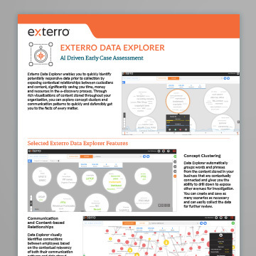 Exterro Data Explorer 360X360