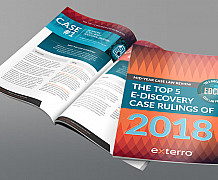 Mid-Year Case Law Review: The Top 5 E-Discovery Case Rulings of 2018