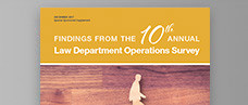 10th Annual Law Department Operations Survey