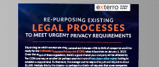 Re-Purposing Legal Processes to Meet Data Privacy Requirements