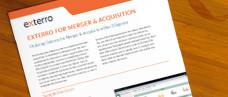 Utilizing Exterro for Merger & Acquisition Due Diligence