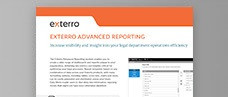 Exterro Advanced Reporting Product Brief
