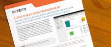 Exterro E-Discovery Data Management