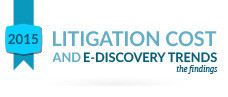2015 Litigation Cost & E-Discovery Trends Infographic