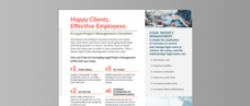 Happy Clients, Effective Employees: A Legal Project Management Checklist