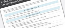Legal Director's E-Discovery Strategy Checklist