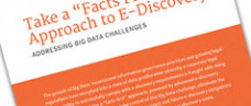 Facts First E-Discovery Data Management White Paper