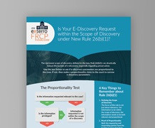 Is Your E-Discovery Request within the Scope of Discovery under New Rule 26(b)(1)?