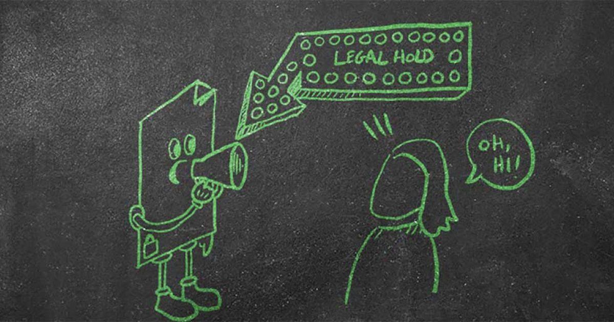Litigation Hold Letter Sample.Legal Hold Litigation Hold The Basics Of E Discovery