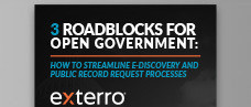3 Roadblocks for Open Government