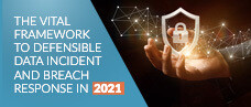 The Vital Framework to Defensible Data Incident and Breach Response in 2021