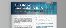 4 Bet-the-Job Questions for the CCPA