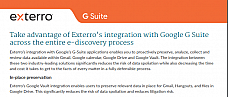 Exterro and G Suite Product Brief