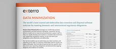 Exterro Data Minimization