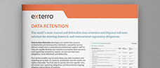 Exterro Data Retention