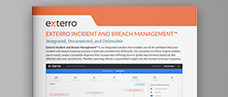 Exterro Incident and Breach Management Product Brief