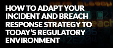 How to Adapt Your Incident and Breach Response Strategy to Today's Regulatory Environment