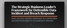 Strategic Business Leader's Framework to Defensible Incident and Breach Response