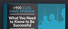 900+ CLOs Have Spoken: What You Need to Know to Be Successful