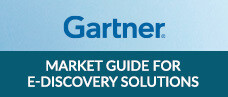 Gartner Report: Market Guide for E-Discovery Solutions