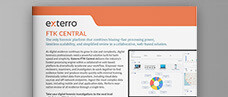 Exterro FTK Central Product Brief