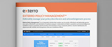 Exterro Policy Management Product Brief
