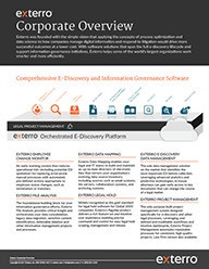 Corporate Overview On Page Thumbnail