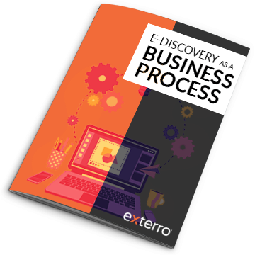 E discovery as a business process