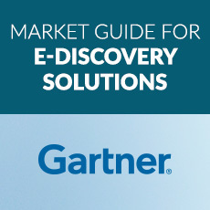 Gartner market guide for e discovery solutions 230x230