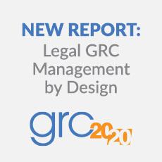 Grc 20 20 legal grc management by design report blog 230x230