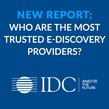 Idc report the most trusted ediscovery providers site thumb 360x360