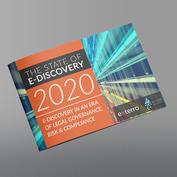 The state of e discovery 2020 site thumb 360x360