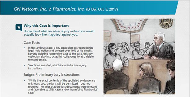 E Discovery Case Law Update 2017 Review